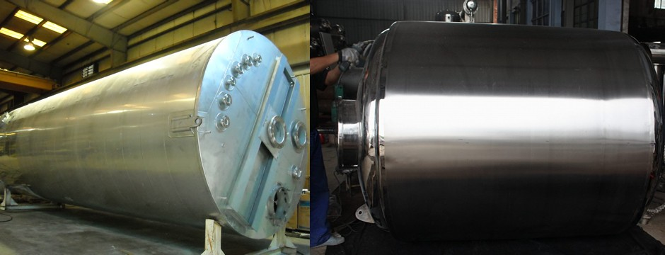 Stainless Steel Tank With Insulation